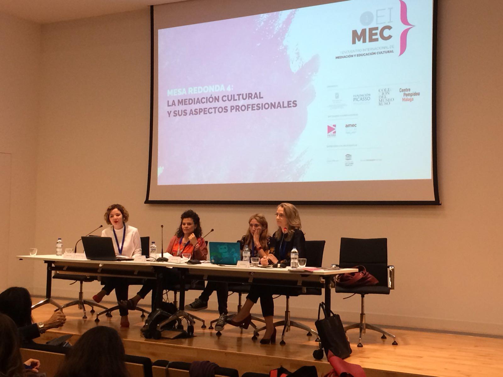 Congreso Educación en Museos, Málaga 2018. Foto Laura Donis.