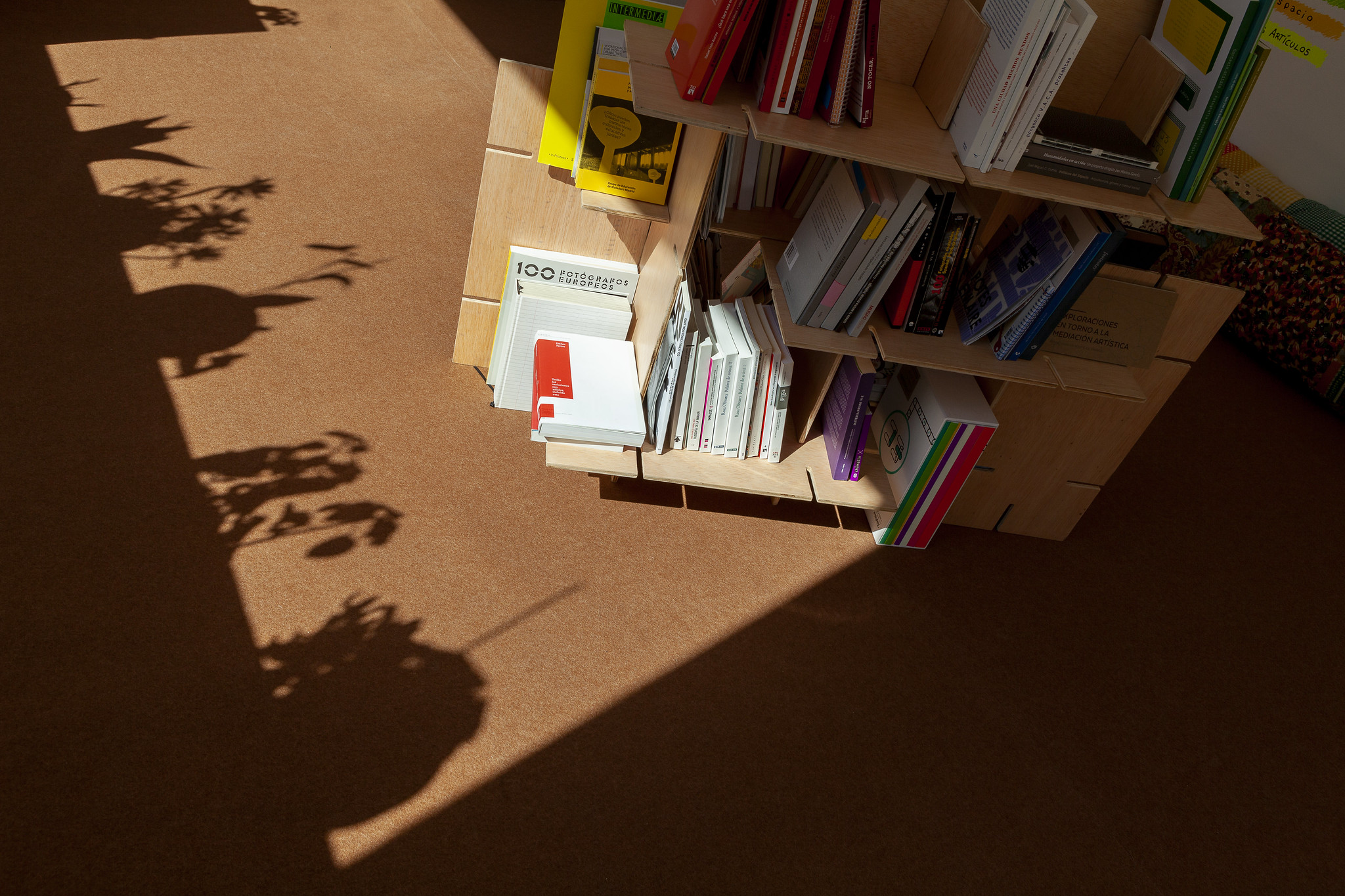 mediaTECA 2020. Detalle sombra. Foto Ana Revuelta