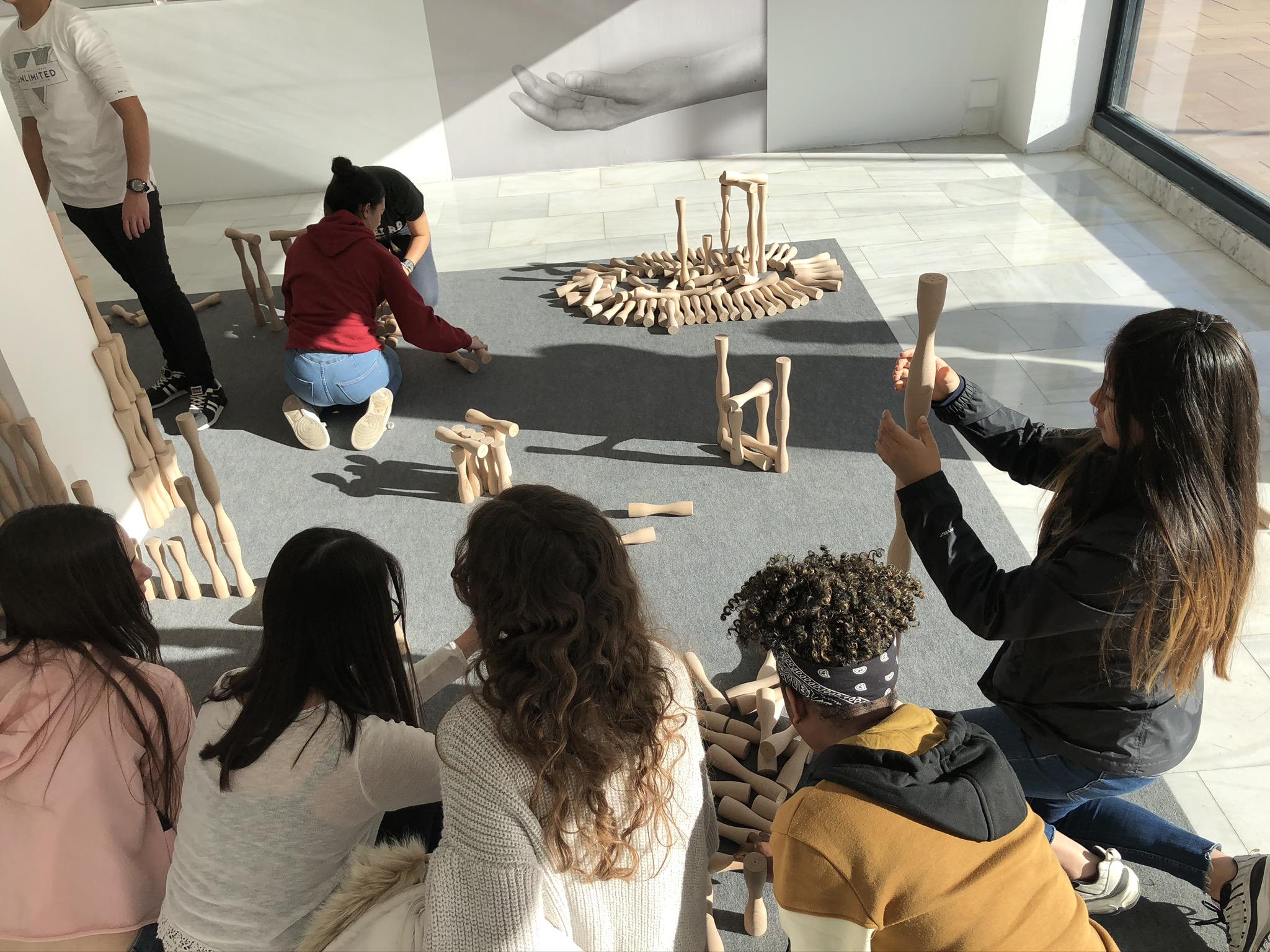 Sala de Arte Joven-XXX Circuitos 2019. Obra de Fuentesal y Arenillas. Foto JaraB