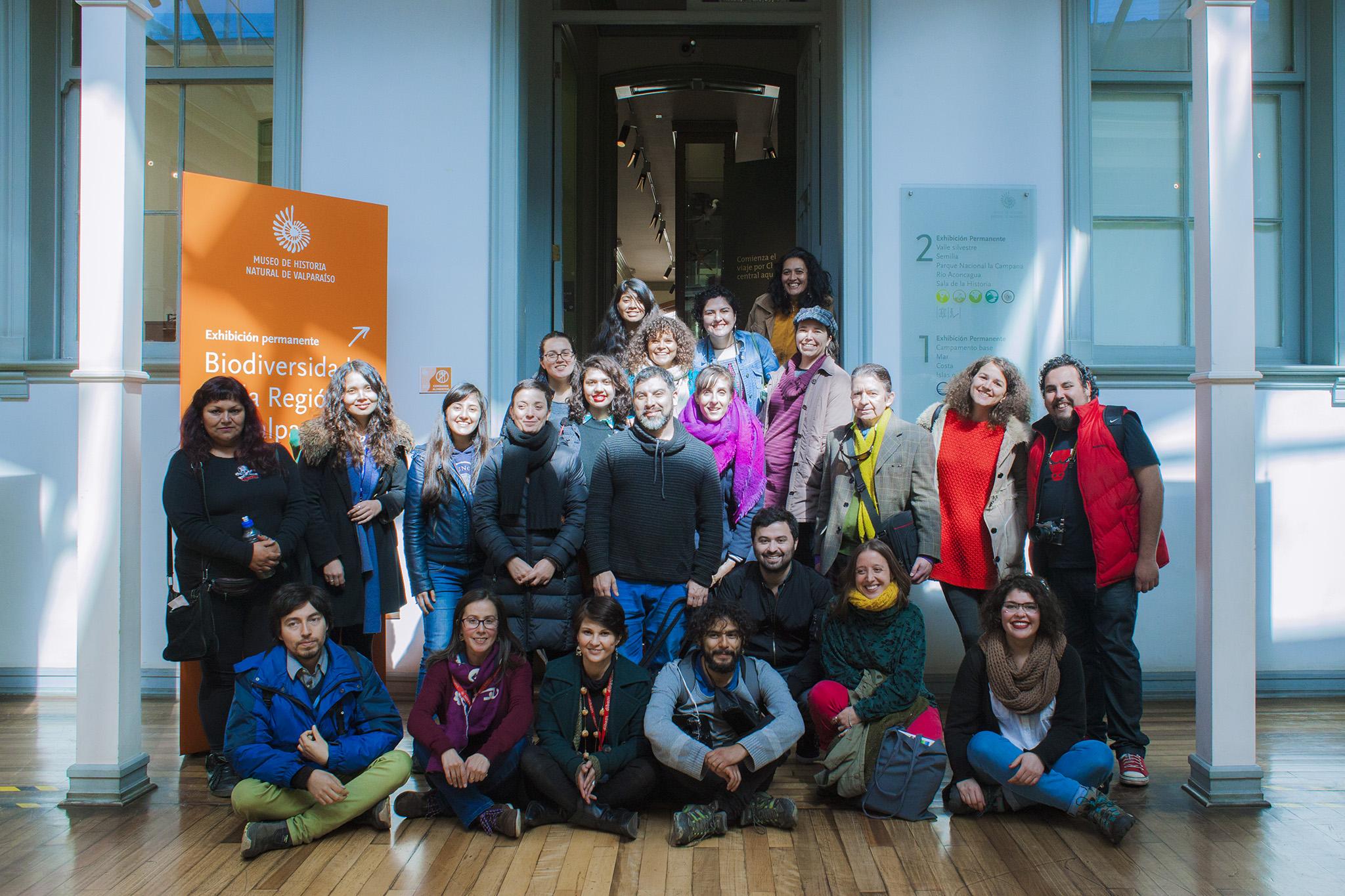 AMECUM, Foto grupo encuentro Chile, 2017. Foto CENTEX