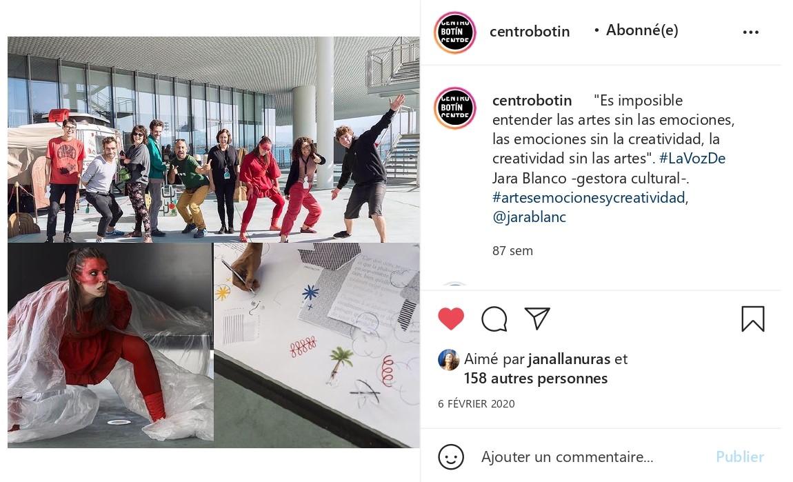Centro Botín sur Instagram_ _Es imposible entender las artes sin las emociones, las emociones sin la creatividad, la creatividad sin las artes_. #LaVozDe Jara Blanco…_pages-to-jpg-0001